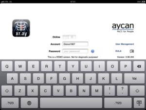 aycan mobile schermata