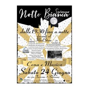 Evento Med Store Saronno per la Notte Bianca di Saronno